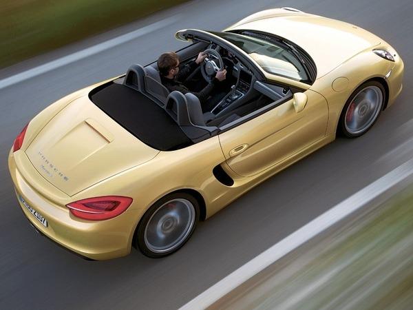 Voici, en avance, le nouveau Porsche Boxster (type 981)