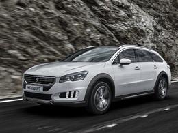 La Peugeot 508 RXH bientôt disponible en 2,0 litres HDI de 180 ch
