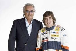 """F1 Renault : Alonso : """"Briatore est comme un père pour moi"""""""