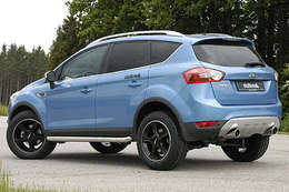 Ford Kuga by Delta 4x4 : vous êtes bling bling ou dirt style ?