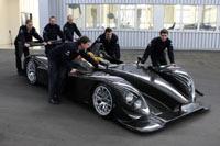 """Le premier Porsche RS Spyder """"client"""" livré"""
