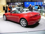 Genève 2007 : Aston Martin V8 Vantage Roadster