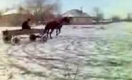 Drift Roumain : pas besoin de beaucoup de chevaux !!