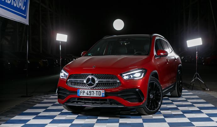 Mercedes GLA : sous la forme d'un vrai SUV - Salon de l'auto Caradisiac 2020