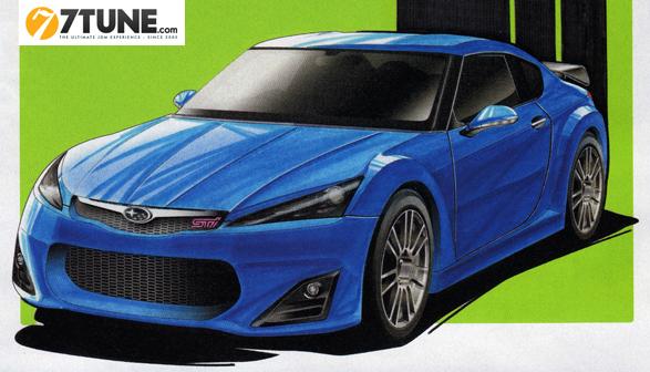 Future Subaru 086A : comme ça ?