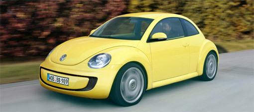 Future VW Beetle : elle arrive en 2012 et sera plus spacieuse