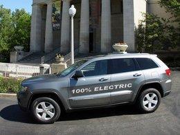 Salon de Detroit 2012 : plus d'infos sur le Jeep Grand Cherokee électrique