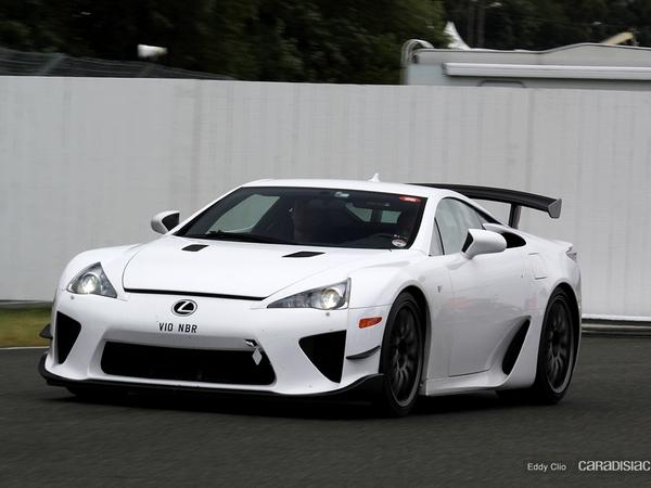 Photos du jour : Lexus LFA Nurburgring Edition