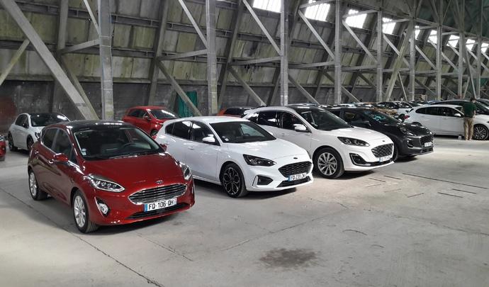 Salon de l'auto Caradisiac. Le stand Ford : priorité SUV