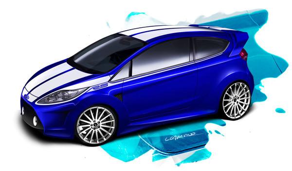 Design : Ford Fiesta RS par Luis Camino : mieux que la Focus !