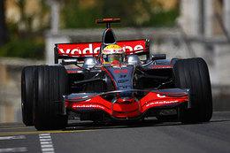 F1 Monaco Libres 2 : Hamilton et Rosberg devancent Raïkkönen