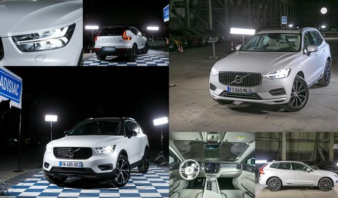 Salon de l'auto Caradisiac - Le stand Volvo: vert vif