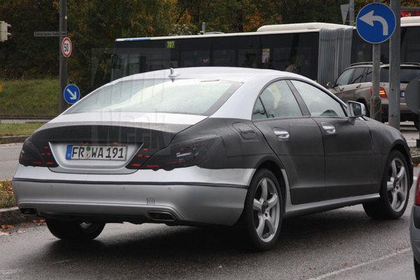 Futur Mercedes CLS : on y voit plus clair