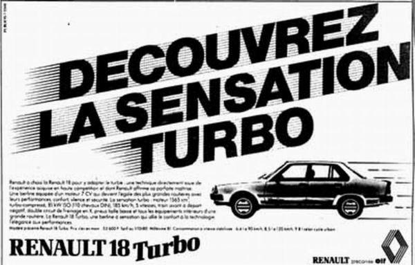 Petite sélection de pubs Renault des 80's