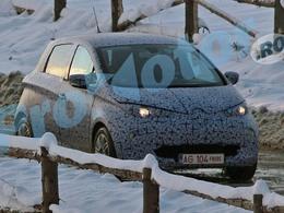 Surprise : Renault Zoë se promène