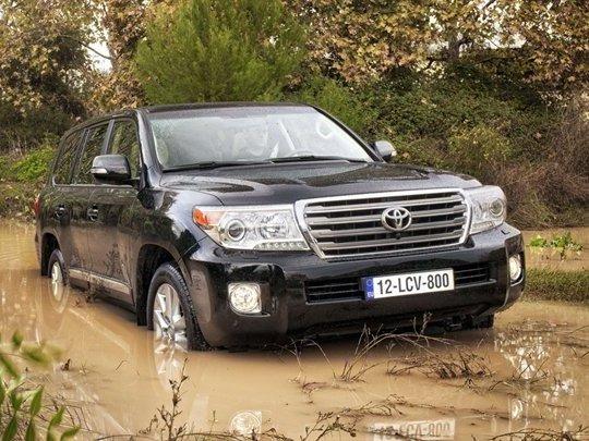 Toyota Land Cruiser V8 restylé au Salon de Bruxelles