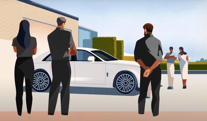 Rolls-Royce annonce la nouvelle Ghost