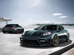 Porsche Panamera par Mansory : rendus sportifs