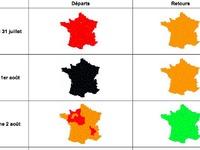 Drapeau noir pour le chassé-croisé: les prévisions de circulation Bison Futé du31juillet au 3août