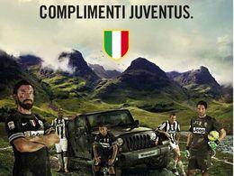 La Juventus championne d'Italie, Jeep dit bravo