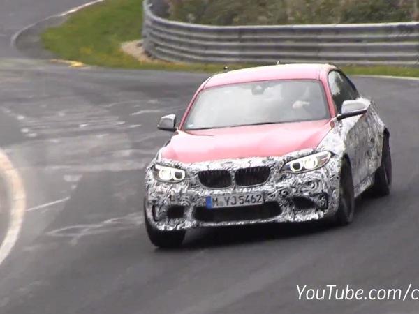 Surprise en vidéo : la future BMW M2 racle le bitume sur le Ring