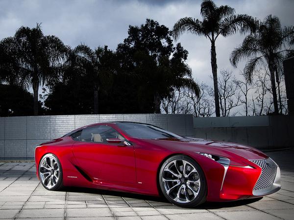 La Lexus LF-LC désignée plus beau concept de Détroit
