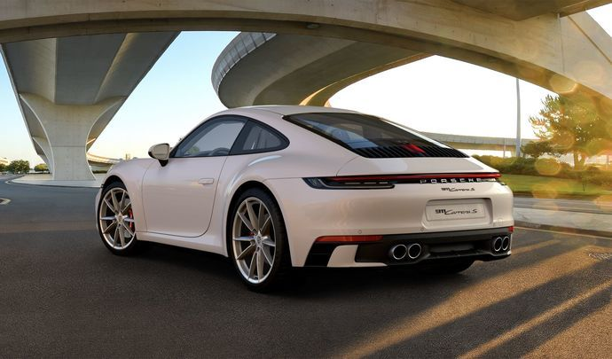 Porsche 911 992 : un pack Sport Design qui change beaucoup son look