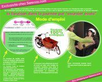 Des coursiers à vélo pour Sarenza.com