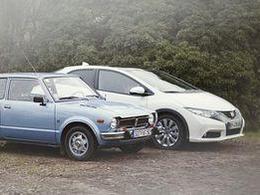 Rétromobile 2012 - Les 40 ans de la Honda Civic