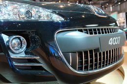 Peugeot 'Hannibal' 4007: besoin de chirurgie dentaire ?