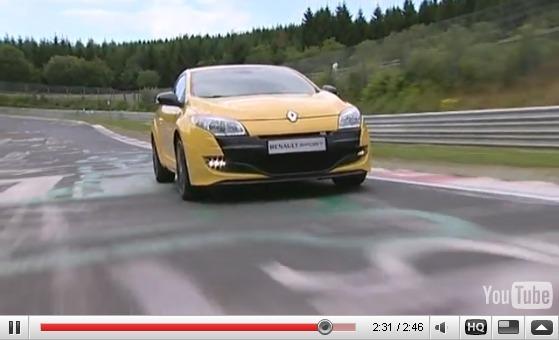 Nouvelle Renault Mégane RS : déjà sur le Nurburgring dans les mains de Romain Grosjean [les précisions de Renault]