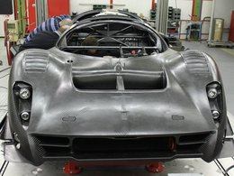 Ferrari P4/5 Competizione: son assemblage progresse bien