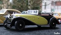 Miniature : 1/43ème - DELAGE D8-SS Fernandez & Darrin
