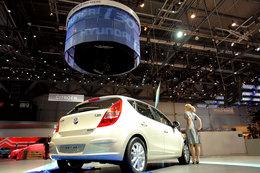 Hyundai i30 en vidéo à Genève