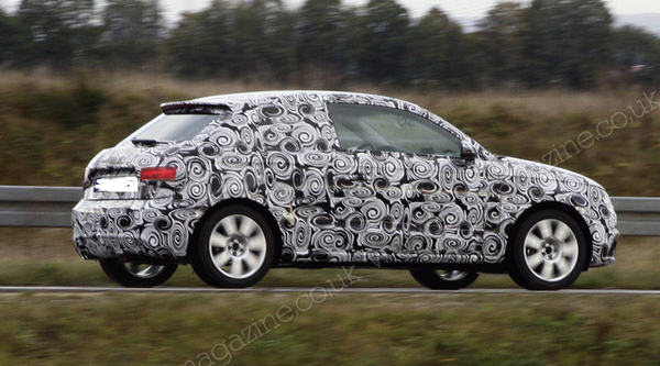 Future Audi A1 : premières prises en test