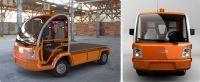 Les camions électriques à basse vitesse autorisés à la vente
