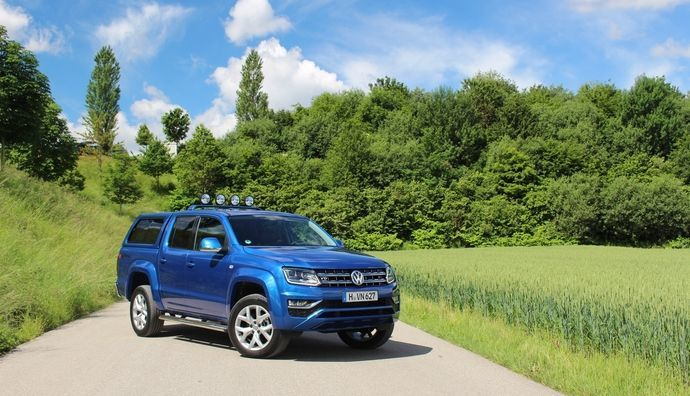 le volkswagen amarok restyl arrive en concession mont e en gamme. Black Bedroom Furniture Sets. Home Design Ideas