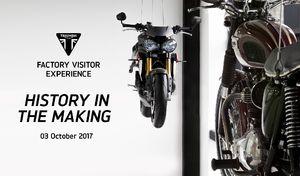Triumph annonce l'ouverture de son centre… avec une nouvelle moto!