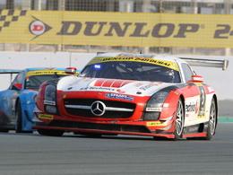 24 Heures de Dubaï - Les Mercedes SLS trustent le podium!