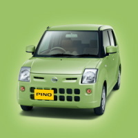 """Nissan : lancement de la mini-voiture """"Pino"""""""