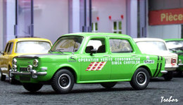 Miniature : 1/43ème - SIMCA 1000 Rallye 2
