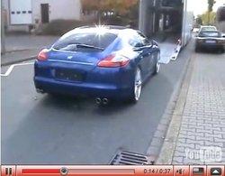 Porsche Panamera 9ff : d'abord le son ...