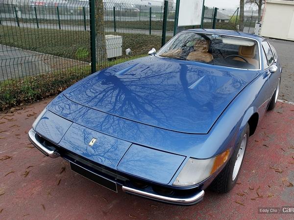 Photos du jour : Ferrari 365 GTB/4 Daytona