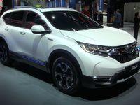 Honda CR-V Prototype: diesel free – En direct du Salon de Francfort 2017