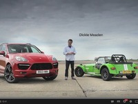 Vidéo - Porsche Cayenne Turbo S vs Caterham 7 Supersport sur circuit : David contre Goliath