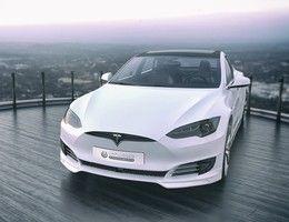 Insolite : un tuner restyle les anciennes Tesla Model S comme la nouvelle