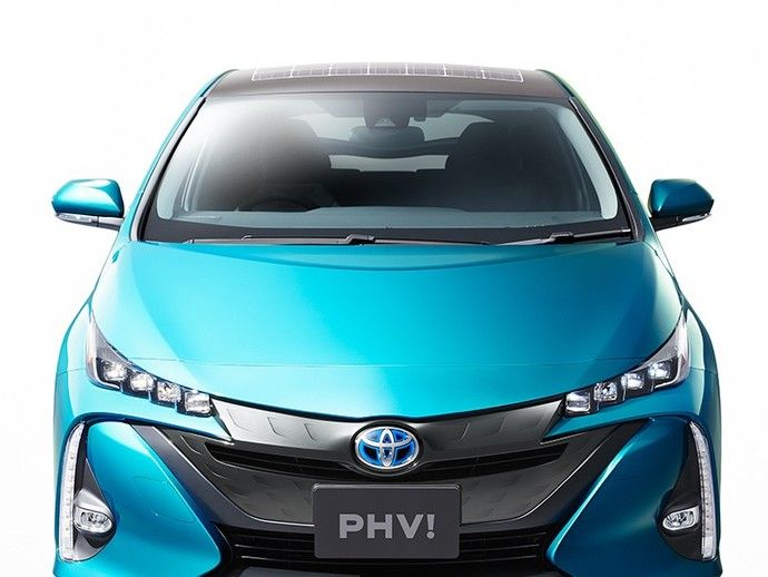 Toyota Prius : des cellules photovoltaïques optionnelles pour le toit de la version rechargeable
