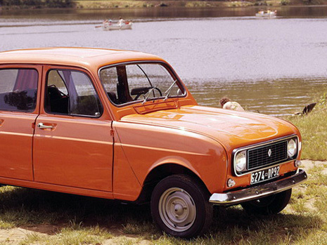 Renault aurait étudié une R4 moderne