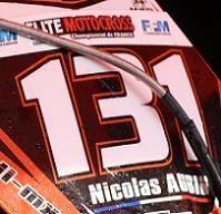 La 250 KTM de Nicolas Aubin