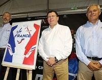 MXDN : le maillot de l'équipe de France à Ernée